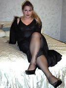 Sex Lady in Nylons